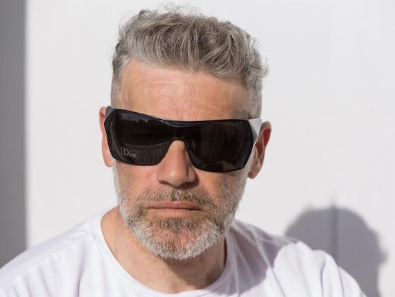 Dior visor sunglasses squared 2000s Gaucho wrapar… - image 3
