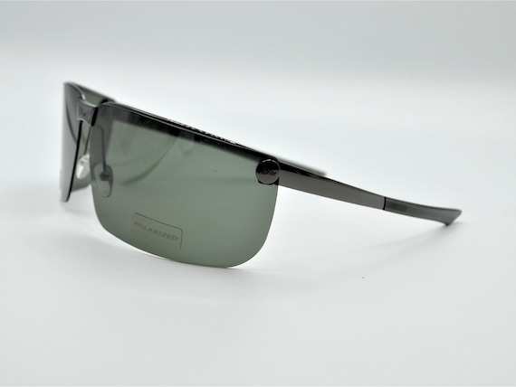Dior men's visor sunglasses Gipsy dark grey with … - image 4