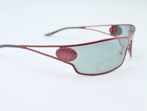 Dior futuristic sunglasses 2000s vintage J'adore … - image 1