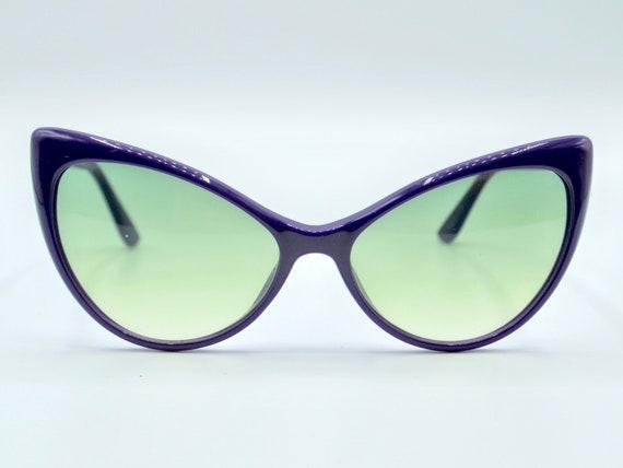 TOM FORD Anastasia 303 cat eye pointy purple retro