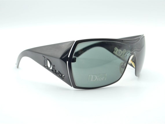 Dior visor sunglasses squared 2000s Gaucho wrapar… - image 2