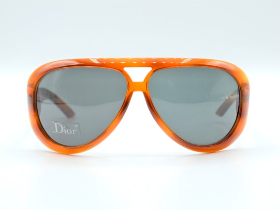 DIOR Aviadior 1 aviator 2000s sunglasses red/blac… - image 7