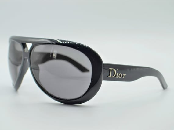 DIOR Aviadior 1 aviator 2000s sunglasses red/blac… - image 2