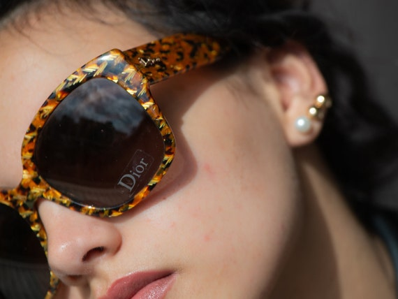 Dior sunglasses squared fabric pattern 2000s Dior… - image 5