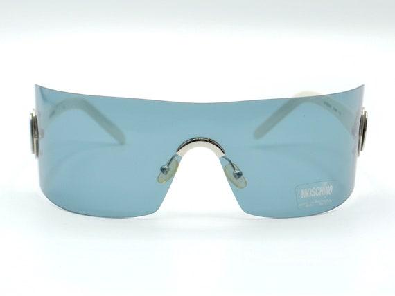 Moschino sunglasses 2000s oversized squared grey r