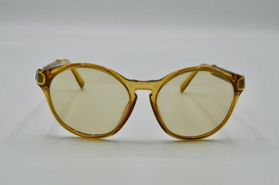 Dior 2210 vintage round sunglasses 1980s