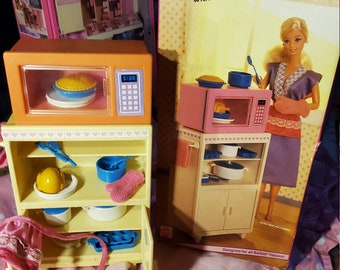 Barbie Kitchen Set Etsy