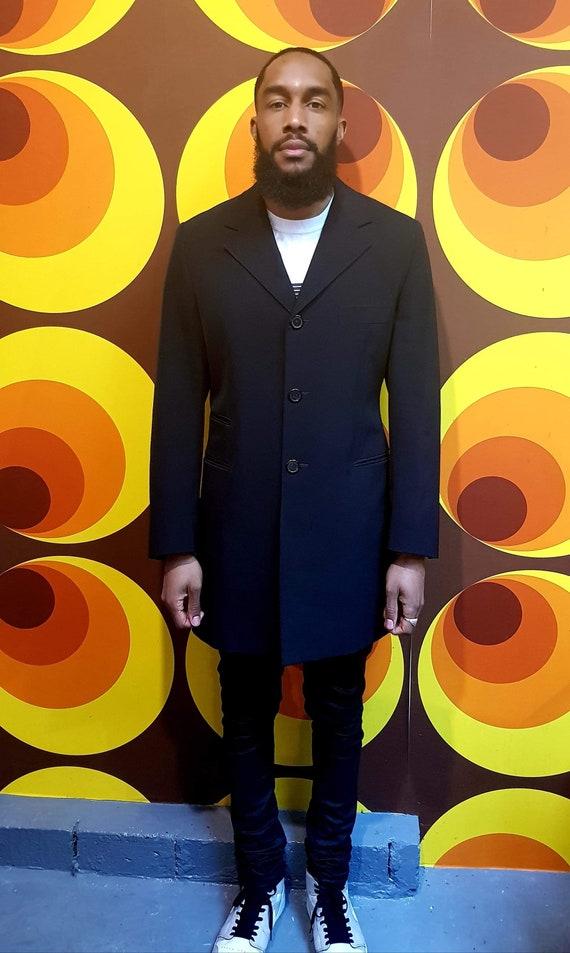 Mens Prada Overcoat