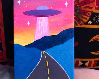 Trippy Painting Etsy
