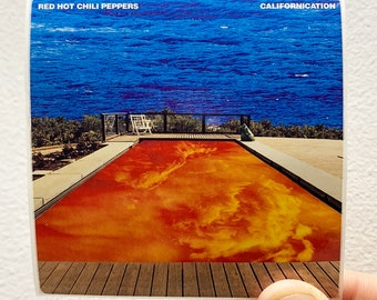 Californication Giclee Canvas Album Cover Art Picture Red Hot Chilli Peppers