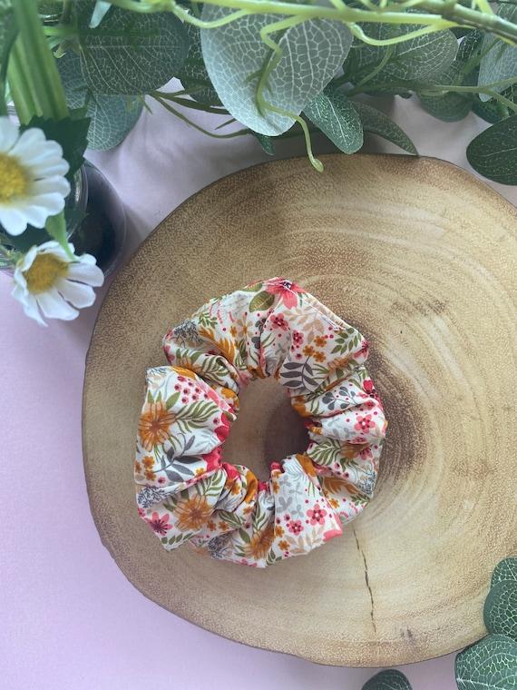 Ditsy Summer Blossom Scrunchie | Cute Floral Scrunchie | Summer Scrunchie | Super stretchy and comfortable scrunchie