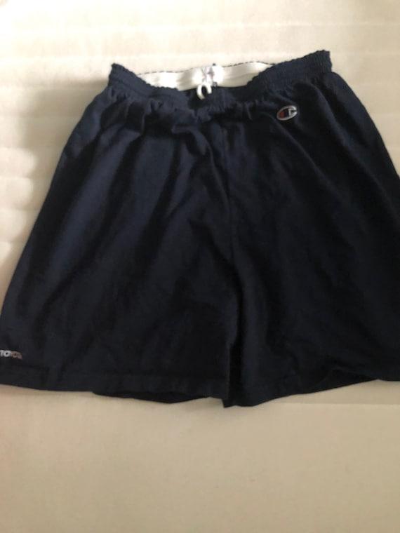 Vintage navy Champion shorts size L