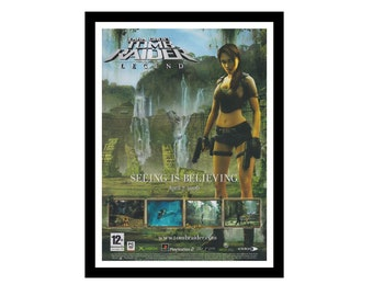 Rise of Tomb Raider Video Game Poster Canvas Premium Quality A0-A4.