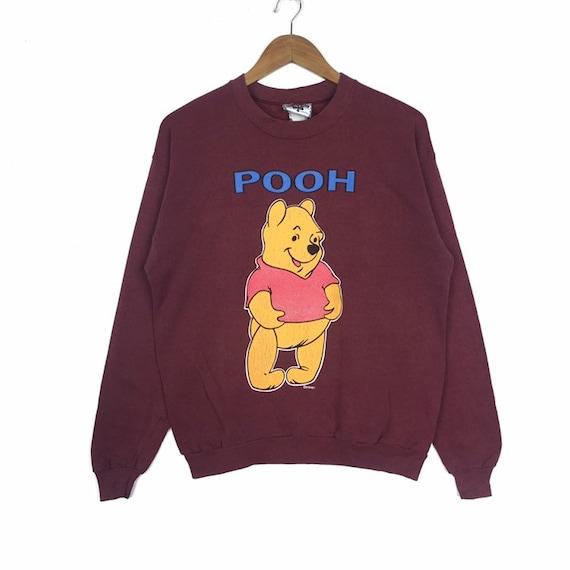 Vintage Lee Pooh Sweatshirt Cartoon Disney Casual