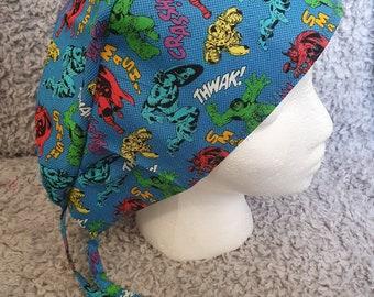 Scooby Doo Rock Star Theme Scrub Hat