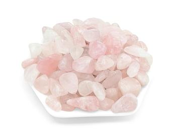 Bulk Rose Quartz Crystal, Tumbled Gemstones, All Natural, Love Stone, Craft Supplies, Healing Crystals, Spiritual Stones, Heart Chakra Gem