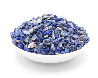 Bulk Lapis Lazuli Chips, Grade A Quality, Polished Gemstone Chips, Third Eye Chakra, All Natural, Crafting Supplies, Healing Crystals, Gems