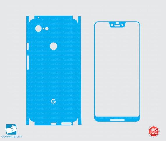 Silhouette Vinyl File Phone skins Cricut Google Pixel skin svg cut file printable Google Pixel 3 XL skin svg cut template vector