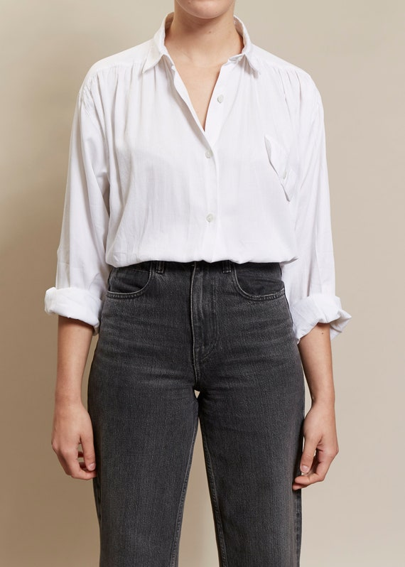 Benetton White Shirt