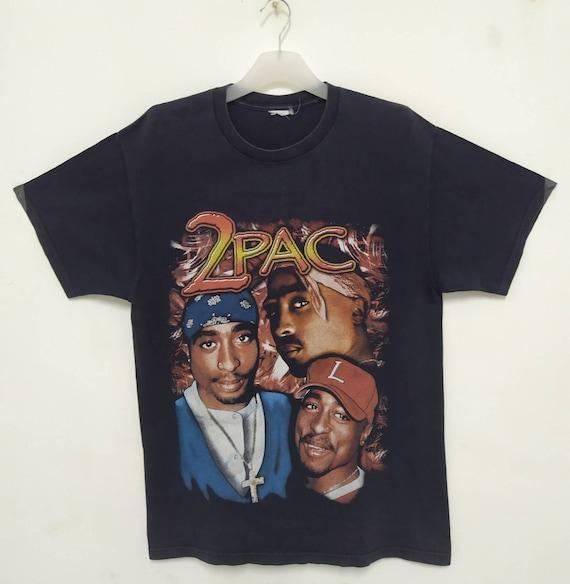 TUPAC SHAKUR Vintage 90s T shirt. Large size