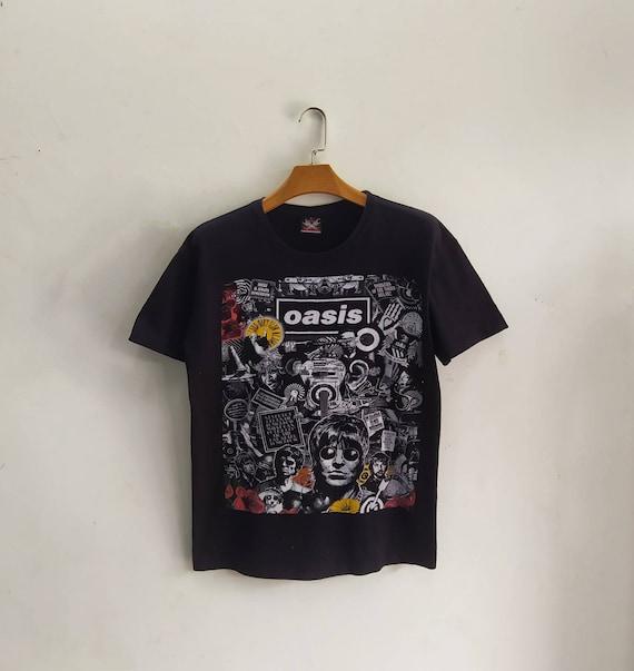 OASIS Vintage 2000s Bootleg Womens T shirt. Large