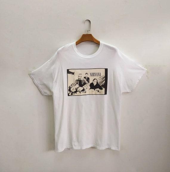 NIRVANA Vintage 1996 T shirt. XL size