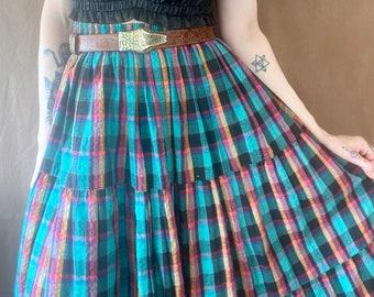 1980s prairie skirt - Size S-M