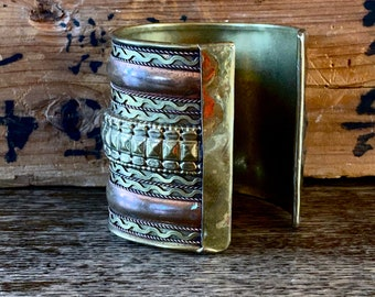 1970s handmade bracelet cuff.