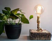 Rustic industrial lamp