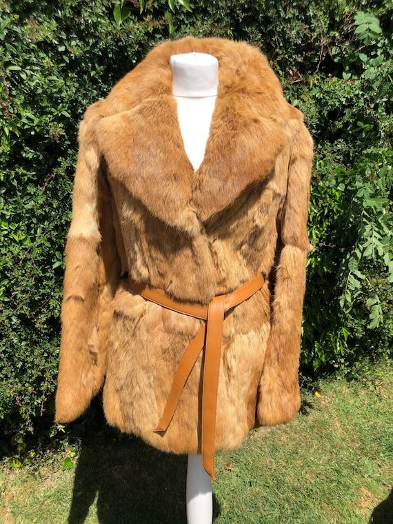 Vintage fur coat, 1960s fur coat, 1970s fur coat,