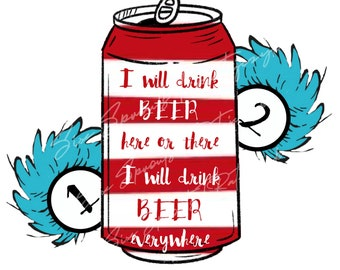 Thing 1 Thing 2 Beer .png image