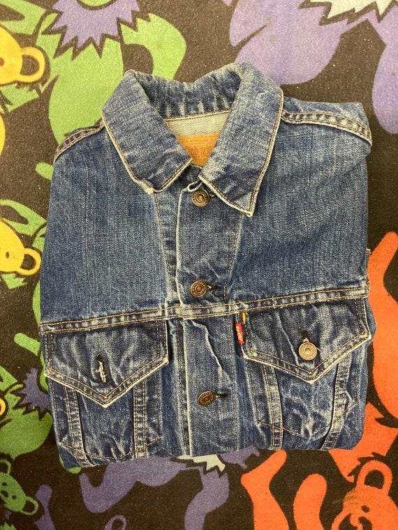 Vintage Levis Big E Jean Jacket