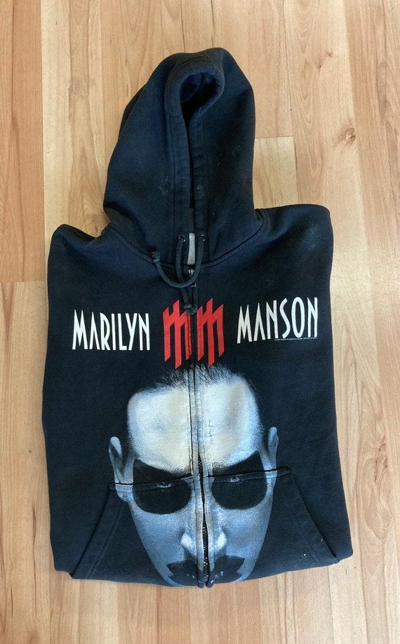 2003 Marilyn Manson Zip Up Hoodie