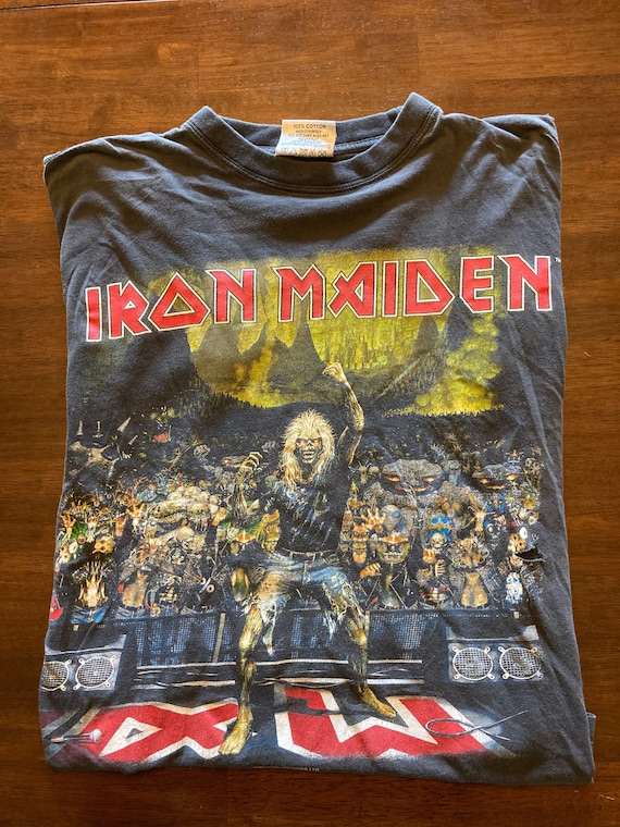 2000 Iron Maiden Germany Tee - image 1