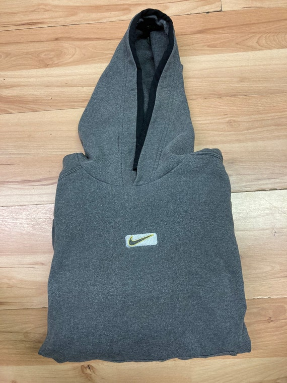 Vintage Center Check Nike Hoodie