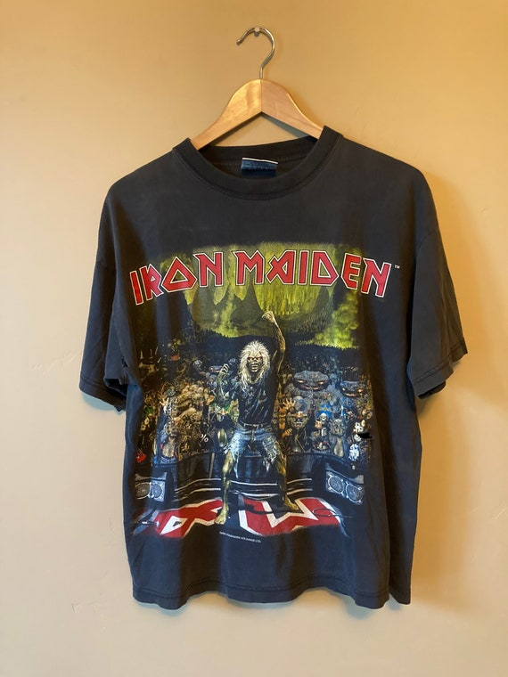 2000 Iron Maiden Germany Tee - image 3