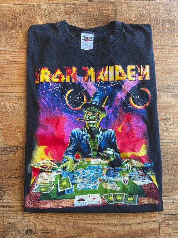 1998 Iron Maiden XI Virtual World Tour Tee