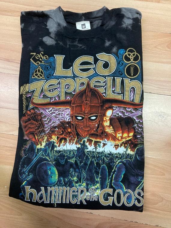 1999 Led Zeppelin Hammer Of The Gods Tee