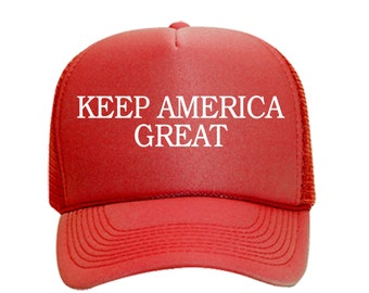 Donald Trump 2020 Keep Make America Great Cap President Election Hat Red~jc