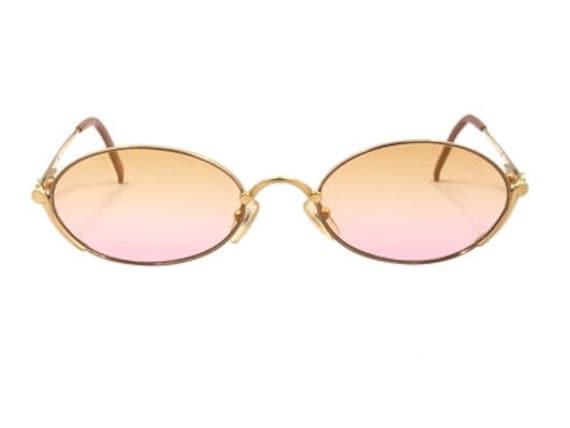 Vintage Christian Dior 2028 - Yellow/Pink