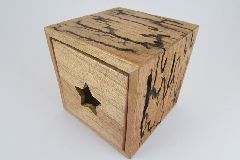 Lichtenberg Figure Jewelry Box 3.5 x 3.5 x 3.5