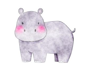 Hippopotamus - Safari Animals