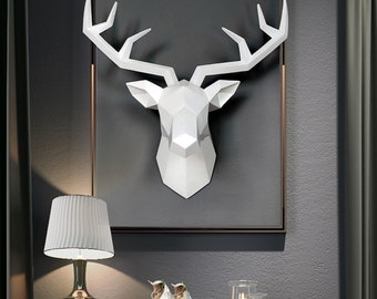 Deer Head Wall Mount Etsy