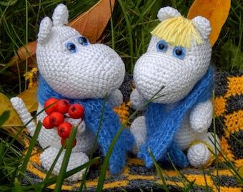 Ravelry: LindaDavie's The Moomin Family | 270x340