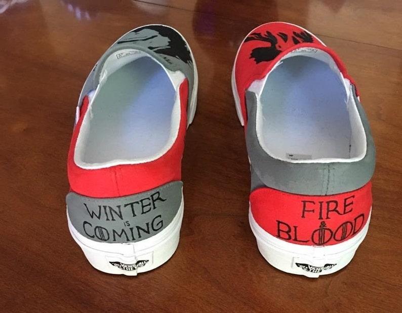 Game of Thrones Design Slip-On personalizzato nbNi4OiW