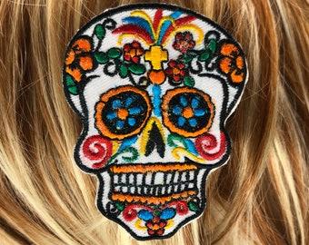 Skeleton hand hair clip \u2022 Dia de Los Muertos \u2022 goth hair accessories \u2022 sugar skull \u2022 skeleton hair clip \u2022 halloween hair accessories