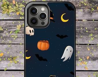 Halloween Ghost Pumpkin Skull Cute Fall - Phone Case for iPhone X XS XR XS Max 11 Pro Max 12 Mini