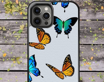 Butterfly Aesthetic Print Cute Beautiful Design - Phone Case for iPhone 7 8 Plus SE X XR XS Max 11 Pro Max 12 Mini