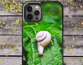 Garden Snail Cute - Phone Case for iPhone 7 8 Plus SE X XR XS Max 11 Pro Max 12 Mini