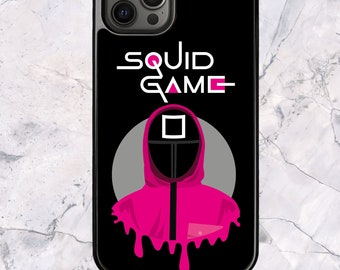 Squid Game Square Manager - iPhone Case for 13 12 11 Pro Max SE XS XR X 7 8